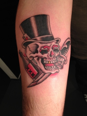 Sawyer Family Tattooing tattoo shop Amsterdam