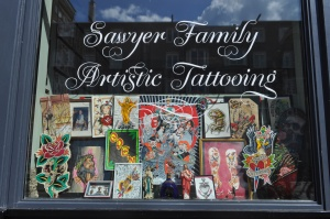 Sawyer Family Artistic Tattooing Amsterdam